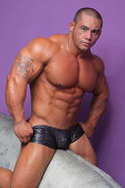 Bill Baker at Muscle Hunks