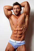 Chris Bortone at Live Muscle Show