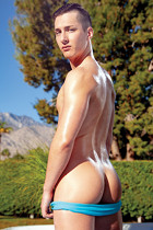 Tristan Hunter at Massage Bait