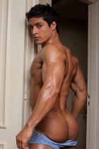 Cesar Santiago at Power Men