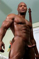 Leon Jackson at Muscle Hunks