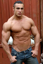 Lex Attila at Muscle Hunks