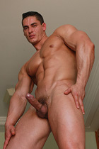 Logan Lewis at Muscle Hunks