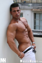 Scott Kirby at Muscle Hunks