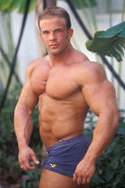 Derek Anthony at Live Muscle Show