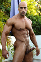 Rico Cane at Muscle Hunks