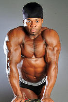 Kai Greene at Jimmy Z Productions