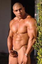 Oscar Navarro at Muscle Hunks