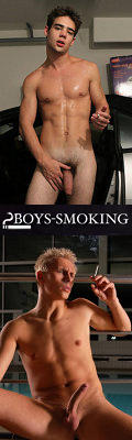Boys Smoking