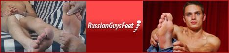 Russian Guys Feet