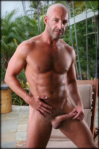 Lad in army uniform whacking off