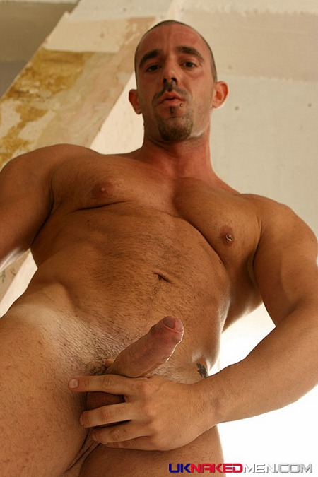 Sexy naked lumberjack men