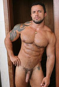 Adelio Senna Muscle Hunks