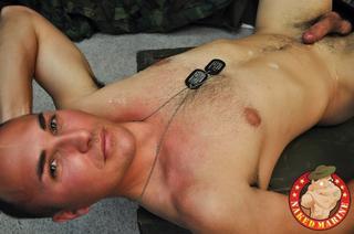 Jackson Lee Naked Marine