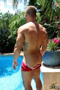 Jesse Brooks Gay Hoopla