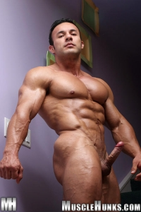 Anton Buttone Muscle Hunks